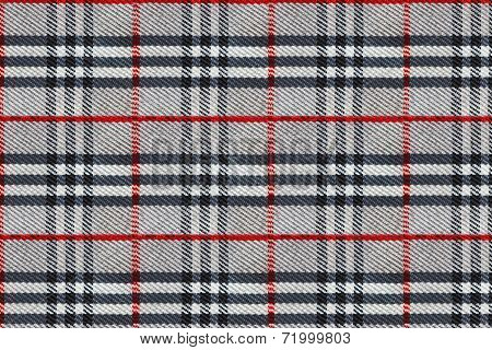 Plaid Pattern - Tartan Clothing Table