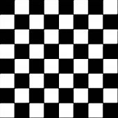 picture of ceramic tile  - Black and white checkered seamless tiles texture - JPG