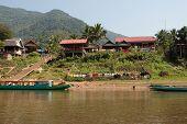 foto of ou  - Fishing village Muang Ngoi Neua in Laos can be only reach at Nam Ou river - JPG