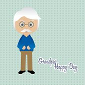 stock photo of special day  - Abstract Grandparents day background with some special objects - JPG