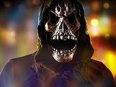 pic of reaper  - Grim reaper on a dark background - JPG