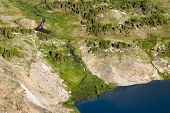image of beartooth  - View of an alpine lake along the Beartooth Highway - JPG