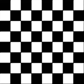 image of ceramic tile  - Black and white checkered seamless tiles texture - JPG