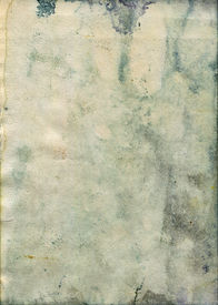 stock photo of saddening  - Stained and Damaged old watercolor paper - JPG