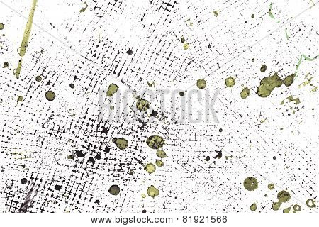 Abstract Ink Pained Vector Background