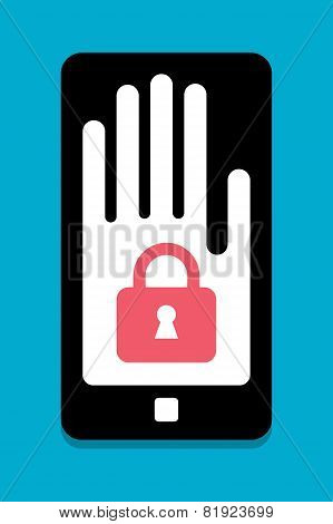 Smart Phone security concept