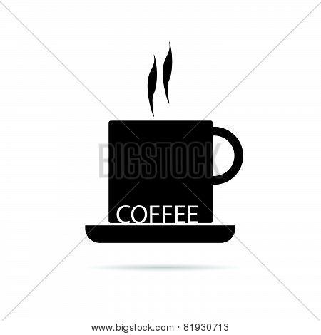 Coffee Cup Black Vector