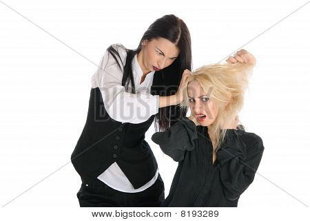 Quarrel Of Two Women