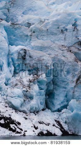 Glacier Face Ready To Calf