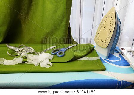 Making curtains shorter