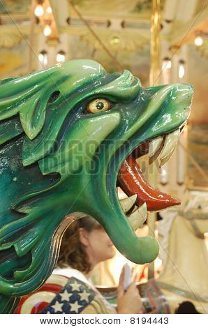 Dragon on a Carousel