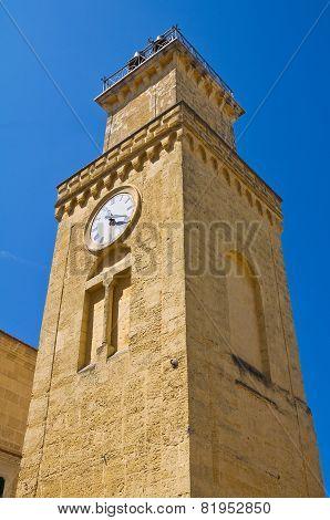 Clocktower. Minervino Murge. Puglia. Italy.