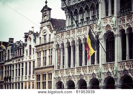 Grand Place In Brussels Belgium