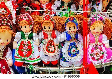 Traditional Magyar Dolls