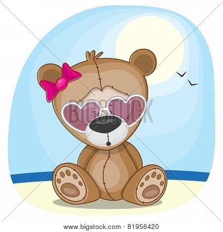Bear In Sunglasses