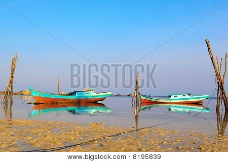 Fishing Boats, Belitung Island