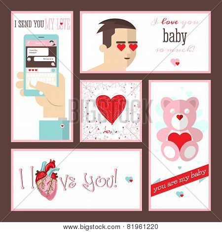 Valentines Day And Wedding Cards
