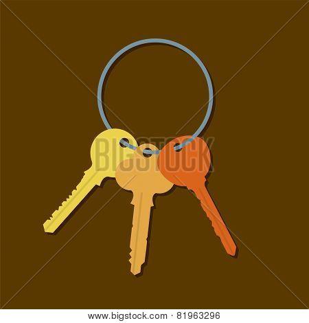 Keys In A Bunch.