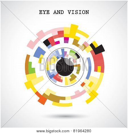 Eye And Vision Concept.