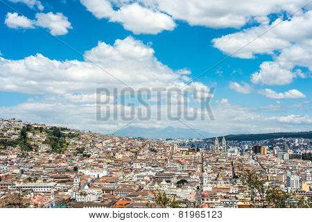 Quito Is The Second Highest Capital City In The World, Ecuador