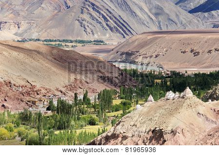 Landscape Of Ladakh, Jammu And Kashmir, India