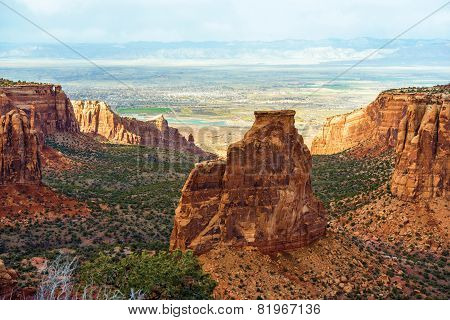 Colorado Monument Landscape