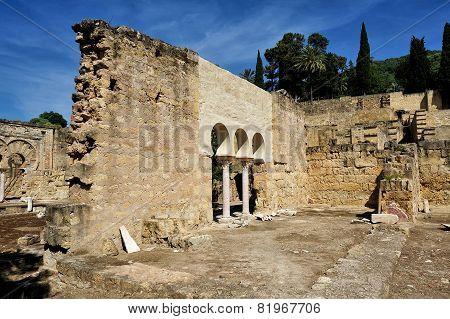 The Ruins Medina Azahara, Cordoba, Spain