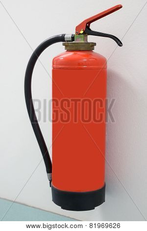 Close-up Of Fire Extinguisher