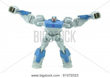 Breakdown Toy Character From Transformers Prime Animation Series.