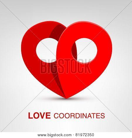 Love coordinates