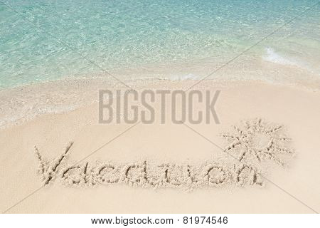 Tranquil View Of Beach