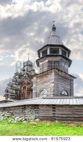 Kizhi. Ancient Church Of Transfiguration