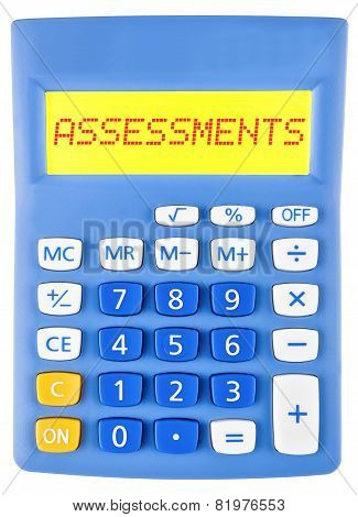 Calculator With Assessments