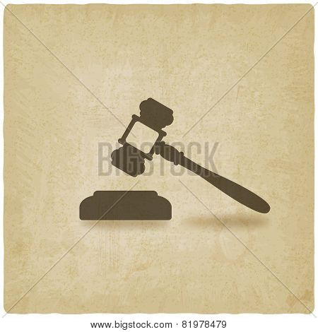 Judge Or Auctioneer Hammer