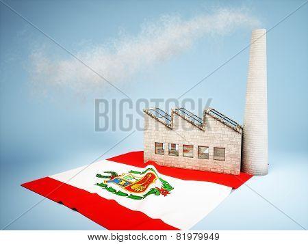 Peruvian industry development concept
