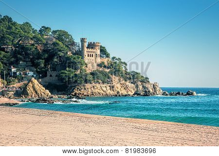 Beautiful Landscape At Lloret De Mar