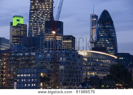 The City of London, UK