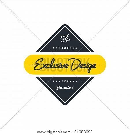 exclusive design vintage label theme