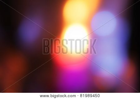 Abstract Background With Multicolored Spots