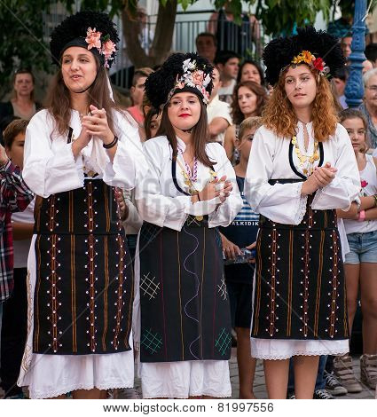 Female Greek Dancers