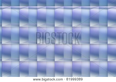 Abstract blue squared background image
