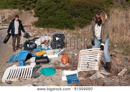 Collecting Rubbish