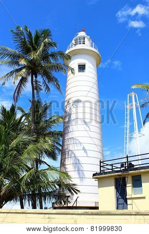 Lighthouse in Galle Fort, built in 1938
