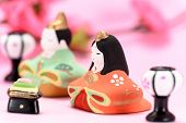 image of doll  - Japanese Traditional Doll An image of Hina Doll - JPG