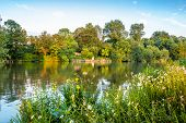 picture of isis  - River Thames near Iffley Lock - JPG
