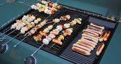 Barbeque Food Cooking poster