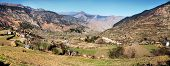image of west village  - Autumnal panoramic view from western Nepal around Kolti village  - JPG