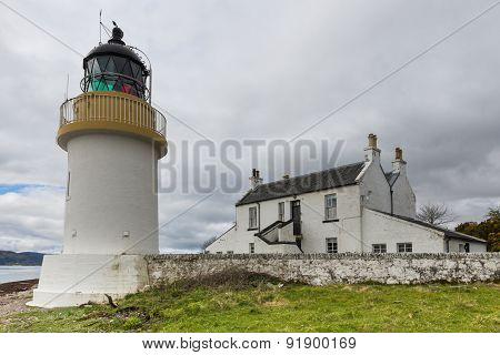Lighthouse At  Corran