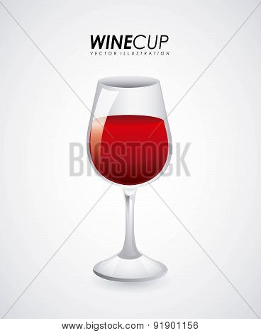 Drinks design over gray background vector illustration
