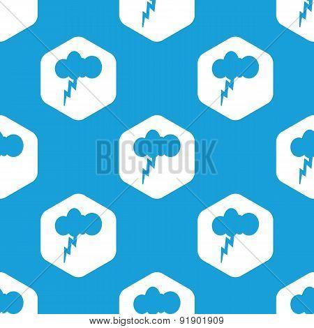 Thunderstorm hexagon pattern